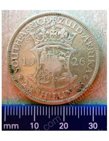 Two and Half Shillings, South Africa, 1926, Silver