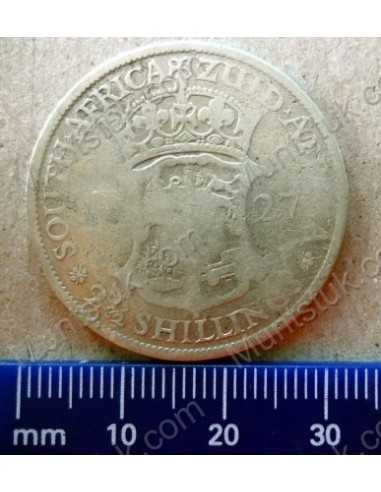 Threepence, South Africa, 1933, Silver