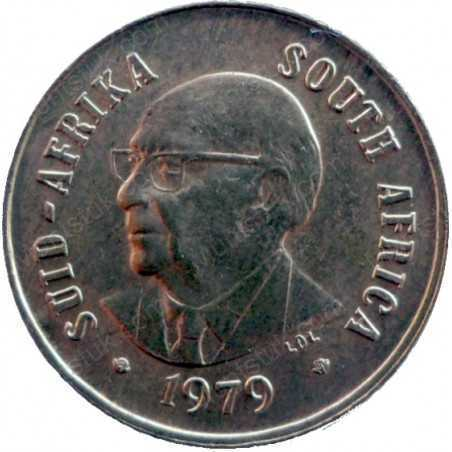 One Cent, South Africa, 1979, Bronze