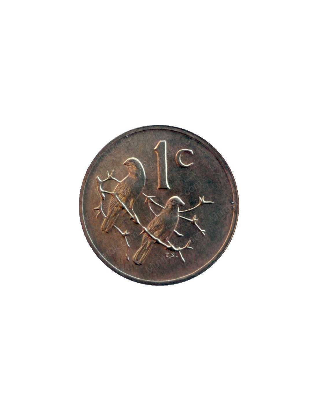 One Cent South Africa 1979 Bronze 46 South