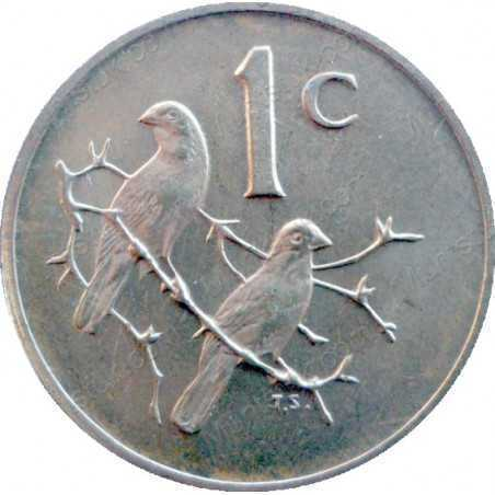 One Cent, South Africa, 1978, Bronze