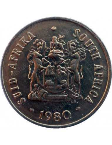 One Cent, South Africa, 1980, Bronze