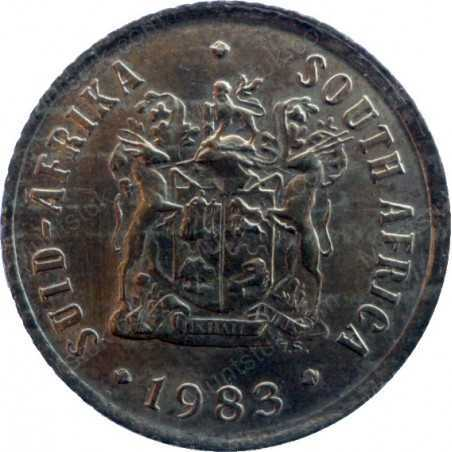 One Cent, South Africa, 1983, Bronze