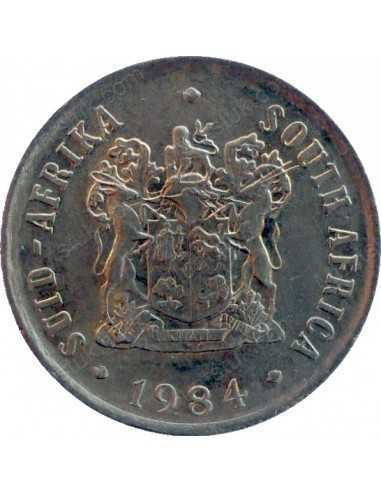 One Cent, South Africa, 1984, Bronze