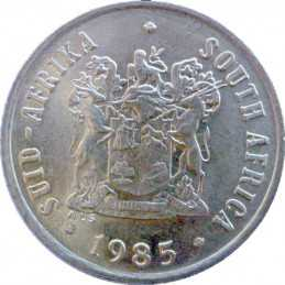 One Cent, South Africa, 1985, Bronze