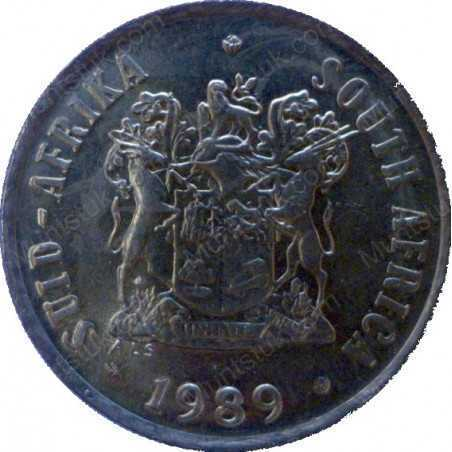 One Cent, South Africa, 1989, Bronze