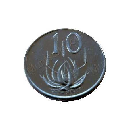 Ten Cent, South Africa, 1971, NIckel