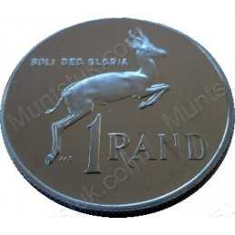 One Rand, South Africa, 1979, Nickel