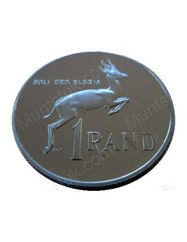 One Rand, South Africa, 1981, Nickel