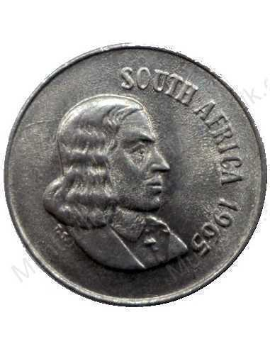 Ten Cent(English), South Africa, 1965, Nickel