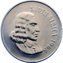 Ten Cent(English), South Africa, 1966, Nickel