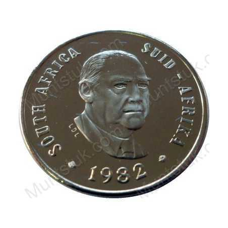 Ten Cent, South Africa, 1982, Nickel