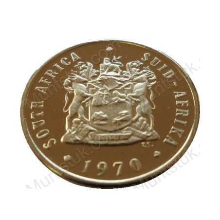 Ten Cent, South Africa, 1970, Nickel