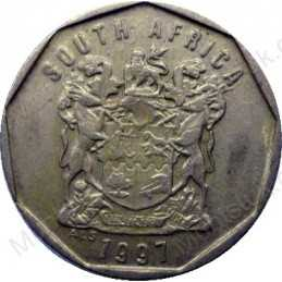 Ten Cent, South Africa, 1997, Bronze plated Steel
