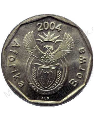Ten Cent, South Africa, 2004, Bronze plated Steel