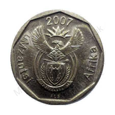 Ten Cent, South Africa, 2007, Bronze plated Steel