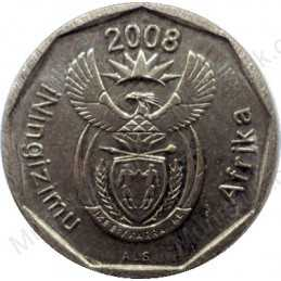 Ten Cent, South Africa, 2008, Bronze plated Steel
