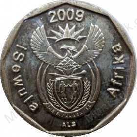 Ten Cent, South Africa, 2009, Bronze plated Steel