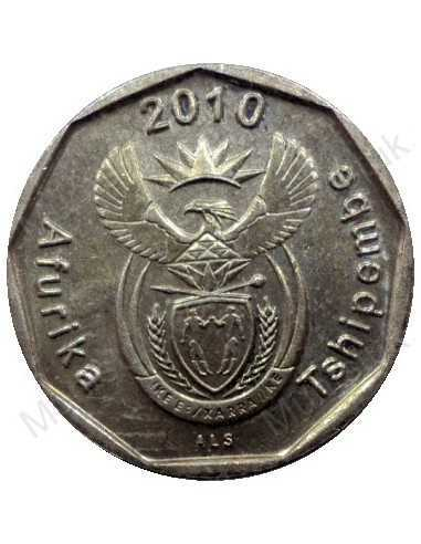 Ten Cent, South Africa, 2010, Bronze plated Steel