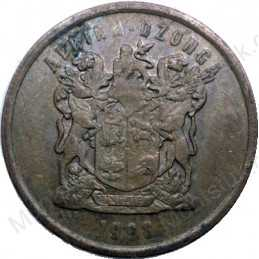Five Cent, South Africa, 1998, Copper plated Steel