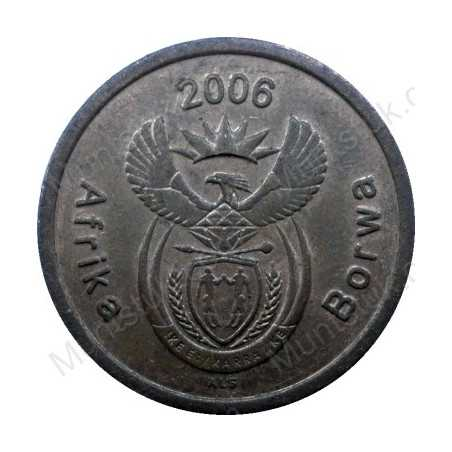 Five Cent, South Africa, 2006, Copper plated Steel