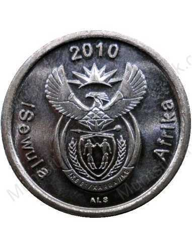 Five Cent, South Africa, 2010, Copper plated Steel