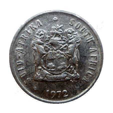 Five Cent, South Africa, 1972, Nickel