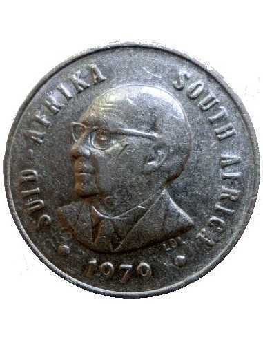 Five Cent, South Africa, 1979, Nickel