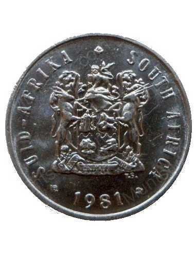 Five Cent, South Africa, 1981, Nickel