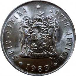 Five Cent, South Africa, 1983, Nickel