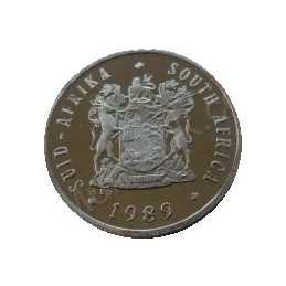 Five Cent, South Africa, 1989, Nickel