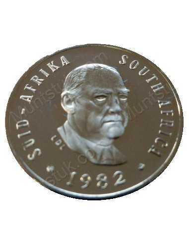Five Cent, South Africa, 1982, Nickel