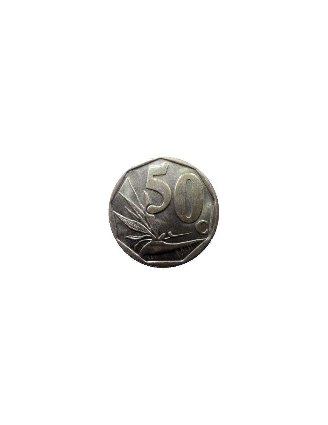 World coins > south africa > third decimal(1989 to date) > fifty