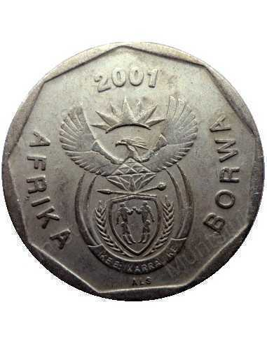 Fifty Cent, South Africa, 2001, Bronze plated Steel
