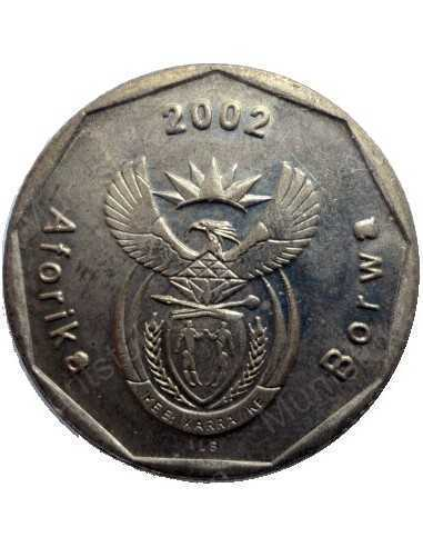 Fifty Cent, South Africa, 2002, Bronze plated Steel