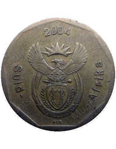 Fifty Cent, South Africa, 2004, Bronze plated Steel