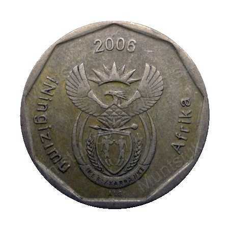 Fifty Cent, South Africa, 2006, Bronze plated Steel