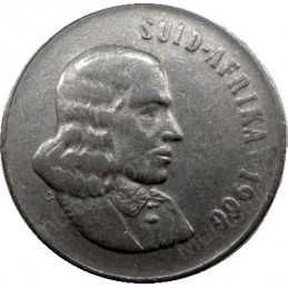 Fifty Cent(Afrikaans), South Africa, 1966, Nickel