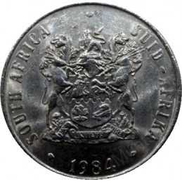 Fifty Cent, South Africa, 1984, Nickel