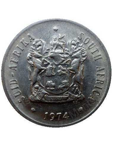 Twenty Cent, South Africa, 1974, Nickel