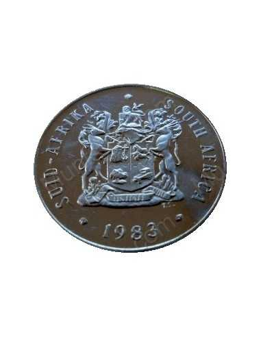 Twenty Cent, South Africa, 1983, Nickel