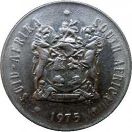 Twenty Cent, South Africa, 1975, Nickel