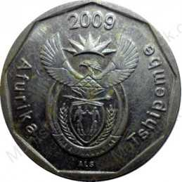 Twenty Cent, South Africa, 2009, Bronze plated Steel
