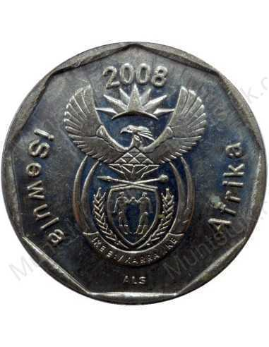 Twenty Cent, South Africa, 2008, Bronze plated Steel