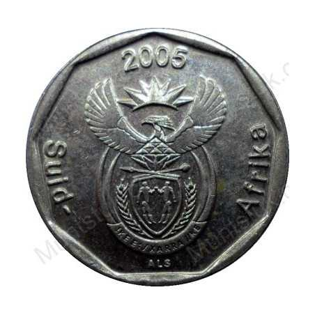 Twenty Cent, South Africa, 2005, Bronze plated Steel