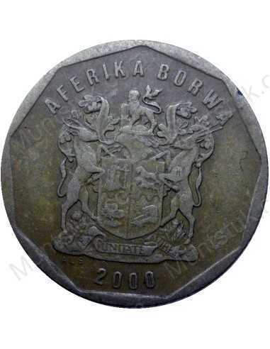 Twenty Cent, South Africa, 2000, Bronze plated Steel