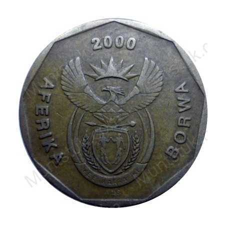 Twenty Cent, South Africa, 2000, Bronze plated Steel *