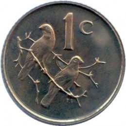 One Cent(Afrikaans), South Africa, 1965, Bronze