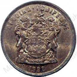 Two Cent, South Africa, 1998, Copper plated Steel