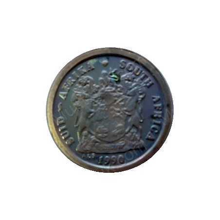 Two Cent, South Africa, 1999, Copper plated Steel